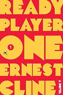 <i>Ready Player One</i> science fiction novel by Ernest Cline
