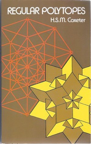 Regular Polytopes (book) - Cover of the Dover edition, 1973
