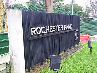 One-north - Signboard of Rochester Park