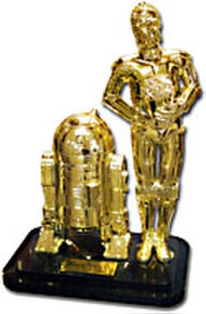 The Official Star Wars Fan Film Awards - The Official Star Wars Fan Film Awards trophy.