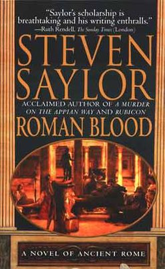 Roma Sub Rosa - A paperback version of the first book in the series, Roman Blood.