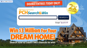 Publishers Clearing House - Image: Screenshot of PCH Search and Win