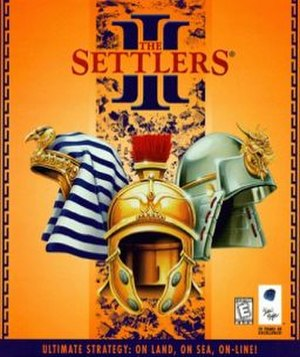 The Settlers III - Image: Settlers 3 cover