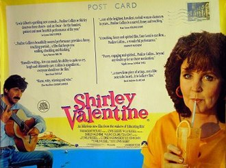 Shirley Valentine (film) - Theatrical release poster