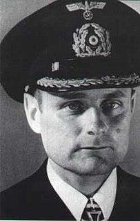 Siegfried von Forstner German navy officer and world war II U-boat commander