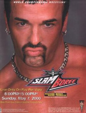Slamboree - Promotional poster featuring Buff Bagwell
