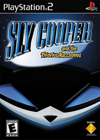 Sly Cooper and the Thievius Raccoonus - North American PlayStation 2 box art