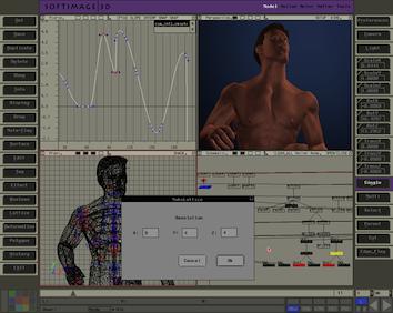 Screenshot of Softimage|3D 3.9.2