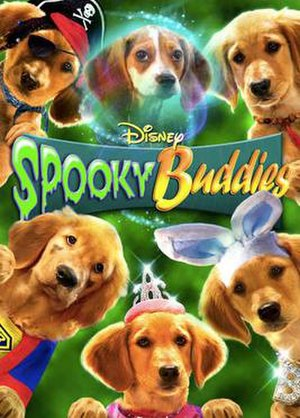 Spooky Buddies - DVD cover art