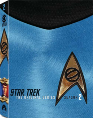 Star Trek: The Original Series (season 2) - DVD cover