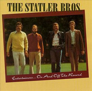 Entertainers...On and Off the Record - Image: Statler bros entertainers