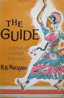 theme of the novel the guide by rk narayan