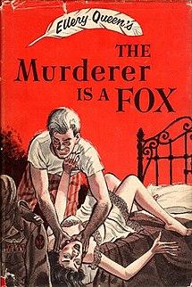 <i>The Murderer Is a Fox</i> novel by Ellery Queen