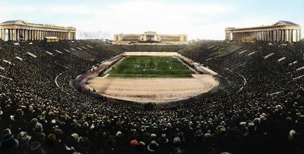 The Army-Navy football game at Soldier's Field (cropped)