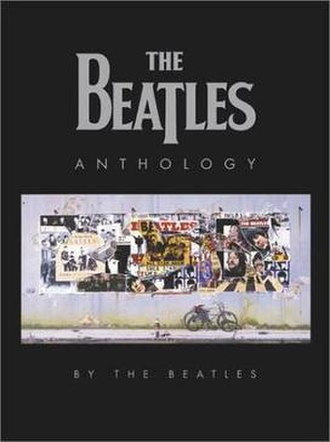 The Beatles Anthology - Cover of The Beatles Anthology paperback book