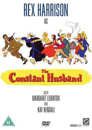 The Constant Husband - DVD cover based on the original UK film poster