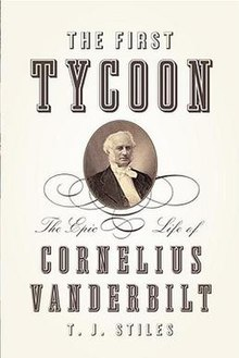 The First Tycoon - Cornelius Vanderbilt (book cover).jpg