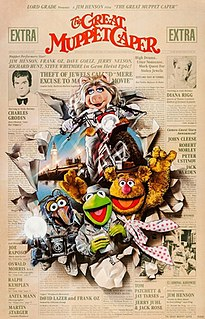 <i>The Great Muppet Caper</i> 1981 film by Jim Henson