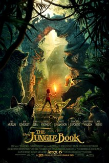 <i>The Jungle Book</i> (2016 film) 2016 American fantasy adventure film directed and co-produced by Jon Favreau