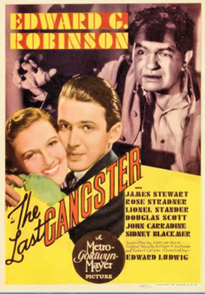 The Last Gangster - 1937 theatrical poster