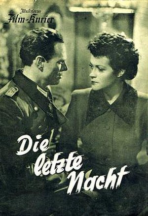 The Last Night (1949 film) - Image: The Last Night (1949 film)