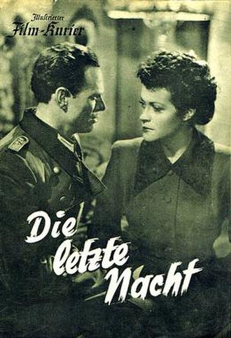 The Last Night (1949 film) - Image: The Last Night (1949 film)