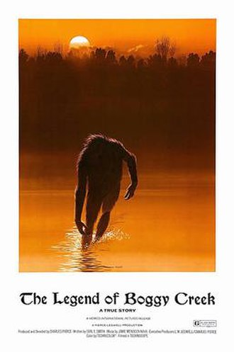 The Legend of Boggy Creek - Theatrical release poster