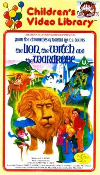 The Lion, the Witch and the Wardrobe (1979 film) - VHS cover