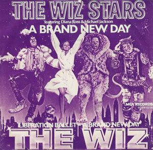 A Brand New Day (The Wiz song) - Image: The Wiz Stars A Brand New Day cover