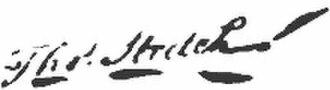 Thomas Stretch - Image: Thomas Stretch signature