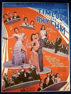 <i>Time Out for Rhythm</i> 1941 film by Sidney Salkow