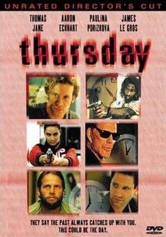 Thursday (film) - DVD cover for Thursday