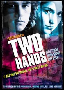 Two hands affiche