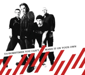 Sometimes You Can't Make It on Your Own - Image: U2 Sometimes CD1