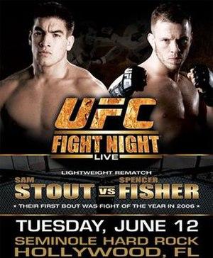 UFC Fight Night: Stout vs. Fisher - Image: Ufcfightnight 101 (1)