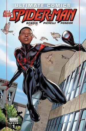 Ultimate Comics: Spider-Man - Image: Ultimate Comics All New Spider Man 1 Variant Cover