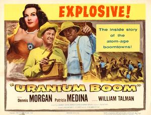 Uranium Boom - Theatrical release poster