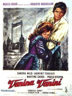 Vanina Vanini (film) - Film poster