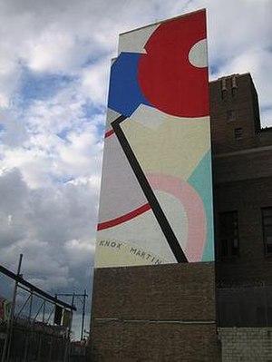 Knox Martin - Venus Mural