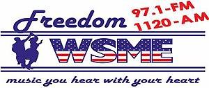 WSME - Image: WSME Freedom 97.1 1120 logo