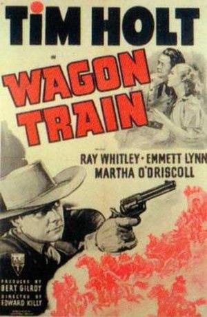 Wagon Train (film) - Theatrical release poster