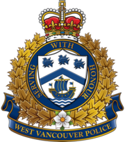 West Vancouver Police Department's Redesigned Crest 2012.png