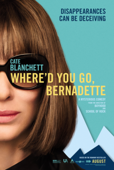Picture of a movie: Where'd You Go, Bernadette