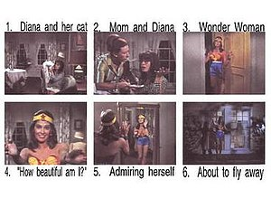 Diana Prince - Stills from the pilot presentation 1967