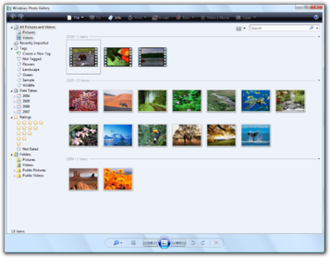 Windows Photo Gallery - Windows Photo Gallery in Windows Vista