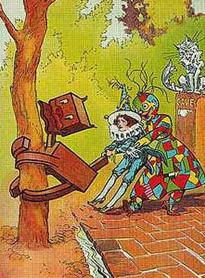 Ojo the Lucky - Image: Woozy Patchwork Girl