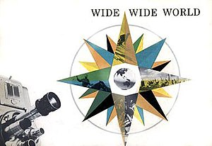 Wide Wide World - Cover of booklet created by NBC to promote Wide Wide World