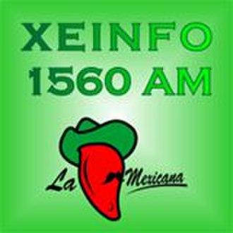 """XEINFO-AM - """"La Mexicana"""" logo"""
