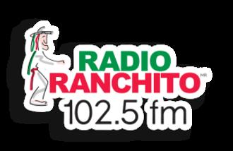 XHRPA-FM - Image: XHRPA Radio Ranchito 102.5fm logo