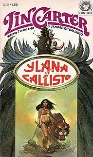 <i>Ylana of Callisto</i> book by Lin Carter